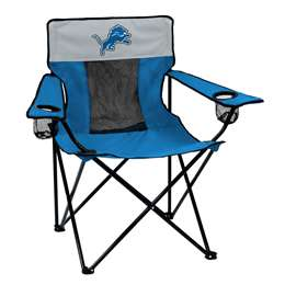 Detroit Lions Elite Folding Chair with Carry Bag