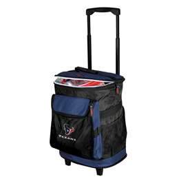 Houston Texans  48 Can Rolling Cooler
