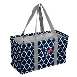 Houston TexansCrosshatch Picnic Tailgate Caddy Tote Bag
