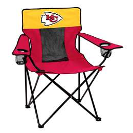 Kansas City Chiefs Elite Folding Chair with Carry Bag