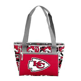Kansas City Chiefs FIT 16 Can Cooler Tote 83 - 16 Cooler Tote