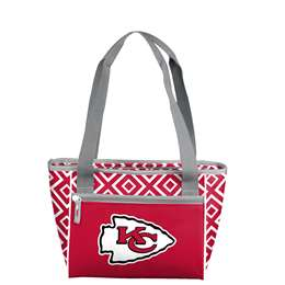 Kansas City Chiefs 16 can Double Diamond Cooler Totel