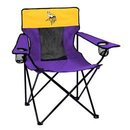Minnesota Vikings Elite Folding Chair with Carry Bag