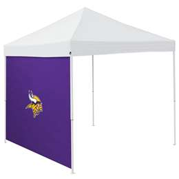 Minnesota Vikings 9 X 9 Canopy Side Wall