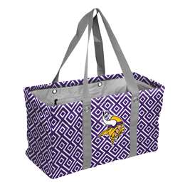 Minnesota Vikings  Picnic Caddy Double Diamond