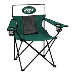 New York Jets Elite Folding Chair with Carry Bag