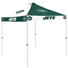 New York Jets 9 X 9 Checkerboard Canopy - Tailgate Tent