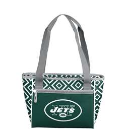 New York Jets DD 16 Can Cooler Tote 83 - 16 Cooler Tote