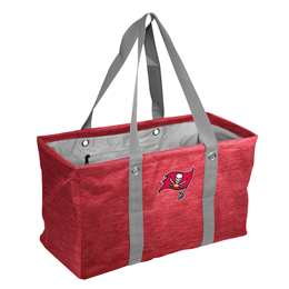 Tampa Bay Buccaneers Crosshatch Picnic Tailgate Caddy Tote Bag