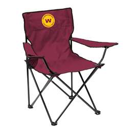 Washington Football Club Quad Folding Chair with Carry Bag
