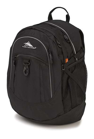 High Sierra BTS Backpacks FATBOY RVMP BLACK