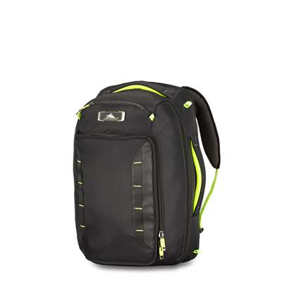 High Sierra CONVERTIBLE CARRY-ON BLACK/ZEST