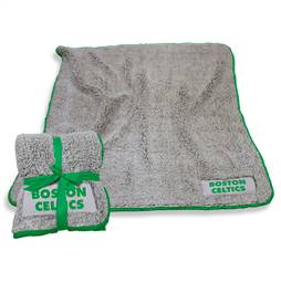 "Boston Celtics Frosty Fleece Blanket 60"" X 50"""