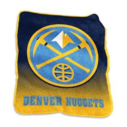 Denver Nuggets Raschel Throw Fleece Blanket