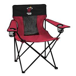 Miami Heat Elite Folding Chair with Carry Bag