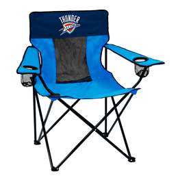 Oklahoma City Thunder Elite Folding Chair with Carry Bag