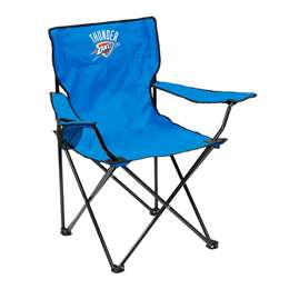Oklahoma City Thunder Chair Adult Quad Folding Chair