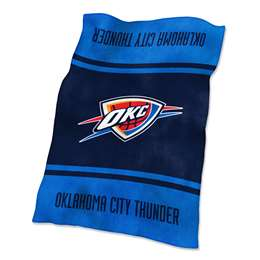 Oklahoma City Thunder Ultrasoft Plush Blanket 84 X 54 Inches
