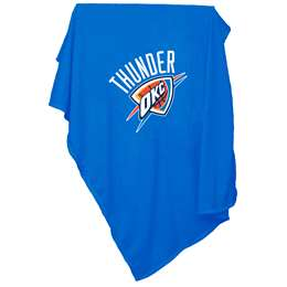 Oklahoma City Thunder  Sweatshirt Blanket 84 x 257