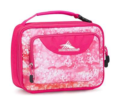 High Sierra Single Compartment Lunch Bag EFFERVESCENT/FLAMINGO