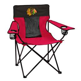 Chicago Blackhawks Elite Folding Chair with Carry Bag