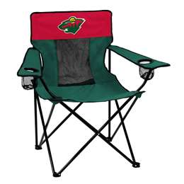 Minnesota Wild Elite Folding Chair with Carry Bag