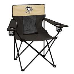 Pittsburgh Penguins Elite Folding Chair with Carry Bag