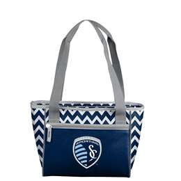 Sporting Kansas City Chevron 16 Can Cooler Tote