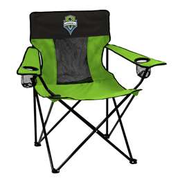Seattle Sounders FC Elite Folding Chair with Carry Bag