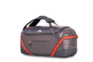 High Sierra Kennesaw 24 inch Duffel Bag CHARCOAL/MERCURY/REDLINE