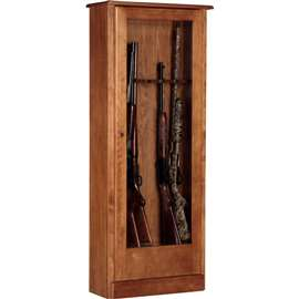 American Furniture Classics Model 724-10, 10 Gun Cabinet