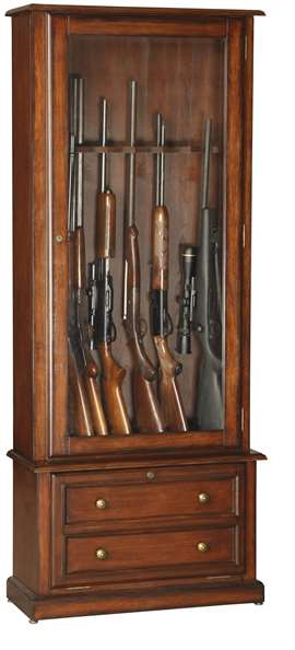 American Furniture Classics Model 800 Classic 8 Gun Cabinet