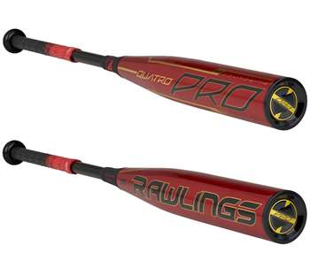 "Rawlings 2020 Quatro Pro BBCOR Baseball Bat -3 31""/ 28oz. BBZQ3"