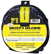 Body Glove 3-4 Person Towable Rope Tow Rope