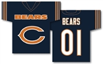 Chicago Bears Jersey Flag Banner