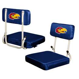 University of Kansas Hard Back Stadium Seat