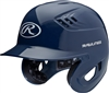 Rawlings Clear Coat High School-College Sized CoolFlo Batting Helmet Navy