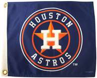 "Boat/Golf Cart 14"" X 15"" Houston ASTROS GOLF CART FLG"