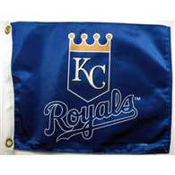 "Boat/Golf Cart 14"" X 15"" Kansas City ROYALS GOLF CART FLG"
