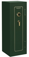 Stack-On FS-14-MG-C 14-Gun Fire Resistant Safe with Combination Lock, Matte Hunter Green
