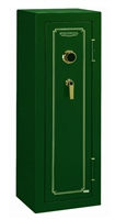 Stack-On FS-8-MG-C 8-Gun Fire Resistant Safe with Combination Lock, Matte Hunter Green