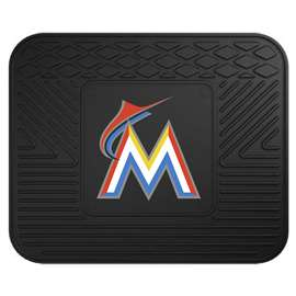 MLB - Miami Marlins Utility Mat Rear Car Mats
