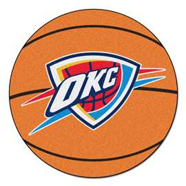 NBA - Oklahoma City Thunder Basketball Mat Ball Mats