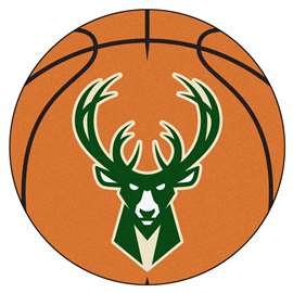 NBA - Milwaukee Bucks Basketball Mat Ball Mats