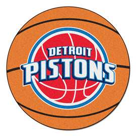 NBA - Detroit Pistons Basketball Mat Ball Mats