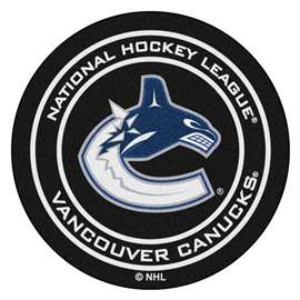 "NHL - Vancouver Canucks Mat, Carpet, Rug 27"" diameter"