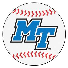 Middle Tennessee State University   Baseball Mat Rug Carpet Mats