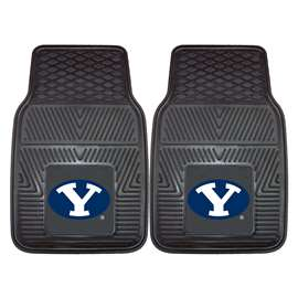 Brigham Young University  2-pc Vinyl Car Mat Set