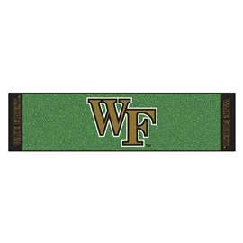 Wake Forest University Putting Green Mat Golf Accessory