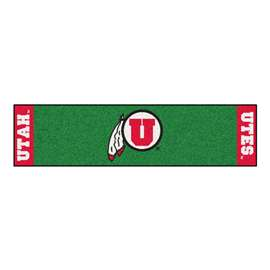 University of Utah Putting Green Mat Golf Accessory